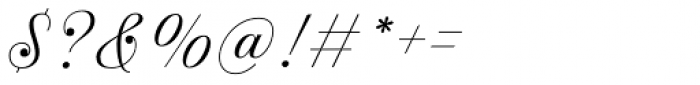 Estampa Script Extra Light Font OTHER CHARS