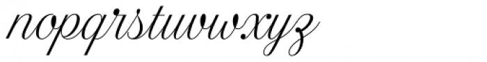 Estampa Script Extra Light Font LOWERCASE