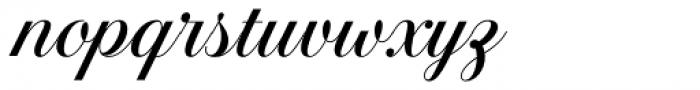 Estampa Script Regular Font LOWERCASE