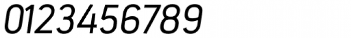 Estandar Light Italic Font OTHER CHARS