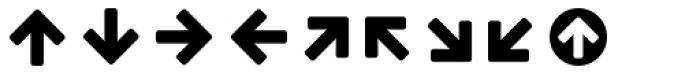 Estandar Rounded Dingbats Font LOWERCASE