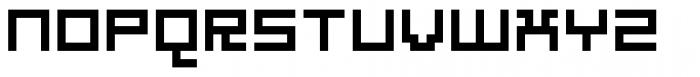 Estetica One Font UPPERCASE