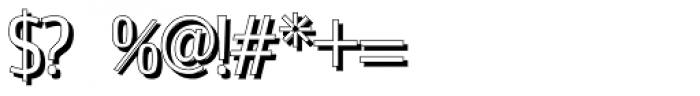 Estiliza Shadow Font OTHER CHARS