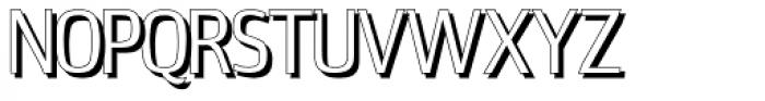 Estiliza Shadow Font UPPERCASE