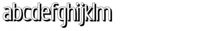 Estiliza Shadow Font LOWERCASE