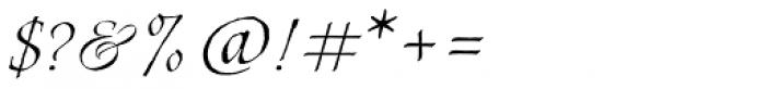 Estonia Regular Font OTHER CHARS
