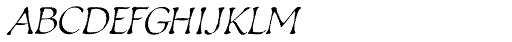 Estonia Regular Font UPPERCASE