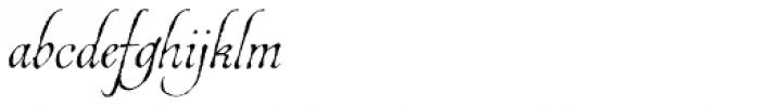Estonia Regular Font LOWERCASE