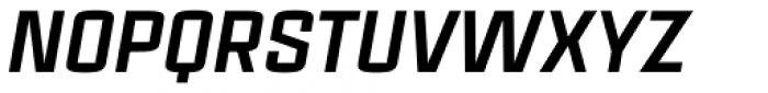 Estricta Black Italic Font UPPERCASE