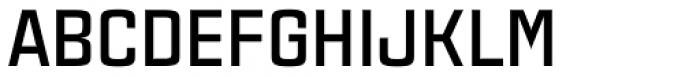 Estricta Bold Font UPPERCASE