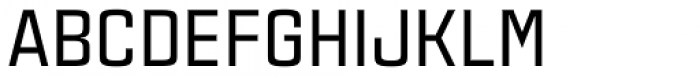Estricta Medium Font UPPERCASE