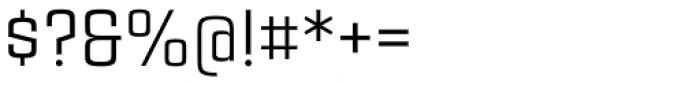Estricta Regular Font OTHER CHARS