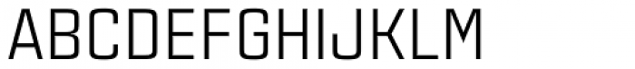 Estricta Regular Font UPPERCASE