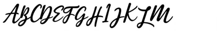 Estylle Madison Regular Font UPPERCASE