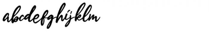 Estylle Madison Regular Font LOWERCASE