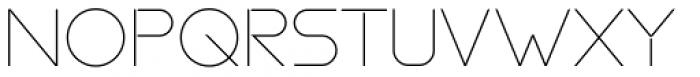 essence thin Font UPPERCASE