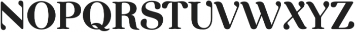 Etewut Serif otf (400) Font UPPERCASE