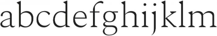 Ethan Light otf (300) Font LOWERCASE