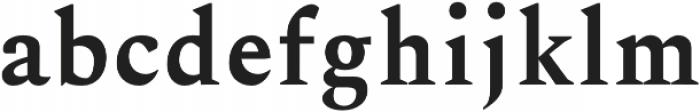 Ethan otf (700) Font LOWERCASE