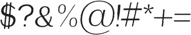 Etheline Sans Rough Oblique otf (400) Font OTHER CHARS