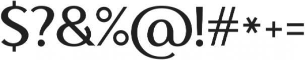Ethna otf (300) Font OTHER CHARS
