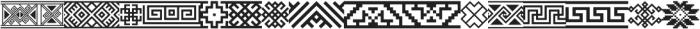 Ethnica Sans letter ttf (400) Font UPPERCASE