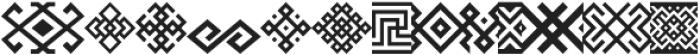Ethnica Sans letter ttf (400) Font LOWERCASE