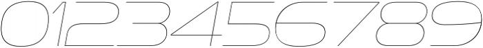 Ethnocentric UltraLight Italic otf (300) Font OTHER CHARS