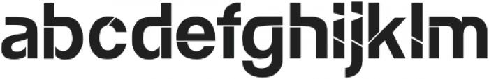 Etika Regular otf (400) Font LOWERCASE
