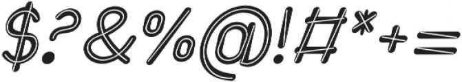 Etterhorn Italic otf (400) Font OTHER CHARS