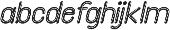 Etterhorn Italic otf (400) Font LOWERCASE