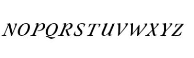 Eterea Handtooled Caps Italic Font LOWERCASE