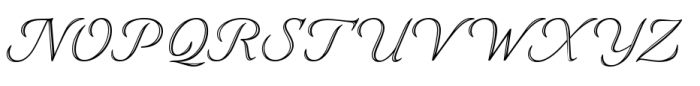 Eterea LC Handtooled Caps Italic Font UPPERCASE