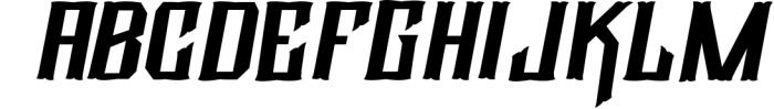 Eternal Font Font UPPERCASE