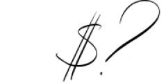Eternal Paris Script Font OTHER CHARS