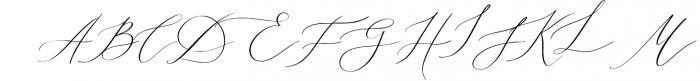 Eternal Paris Script Font UPPERCASE