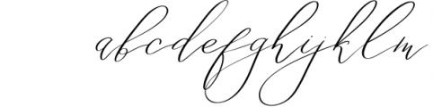 Eternal Paris Script Font LOWERCASE