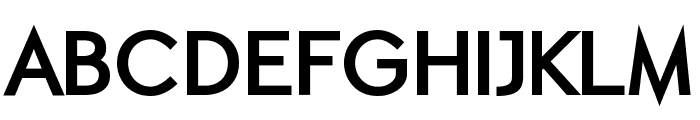 ETH Black Font UPPERCASE