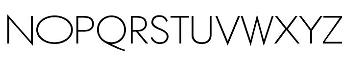 ETH Large Expanded Regular Font UPPERCASE