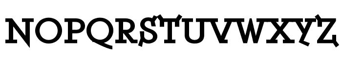 ETH Serif Black Font UPPERCASE