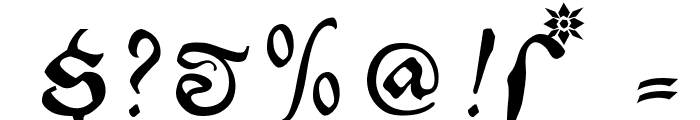 EtBoemieRex Font OTHER CHARS