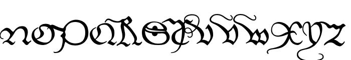 EtBoemieRex Font UPPERCASE