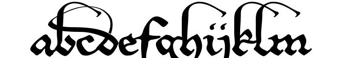 EtBoemieRex Font LOWERCASE