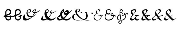 Etadayfree Font UPPERCASE