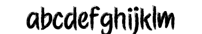 Etchas Font LOWERCASE
