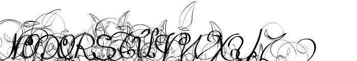 Eternal Call Font UPPERCASE