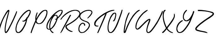 Eternal Fascination Font UPPERCASE