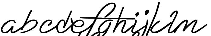 Eternal Fascination Font LOWERCASE
