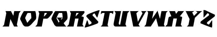 Eternal Knight Bold Italic Font UPPERCASE