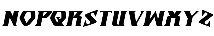 Eternal Knight Italic Font UPPERCASE